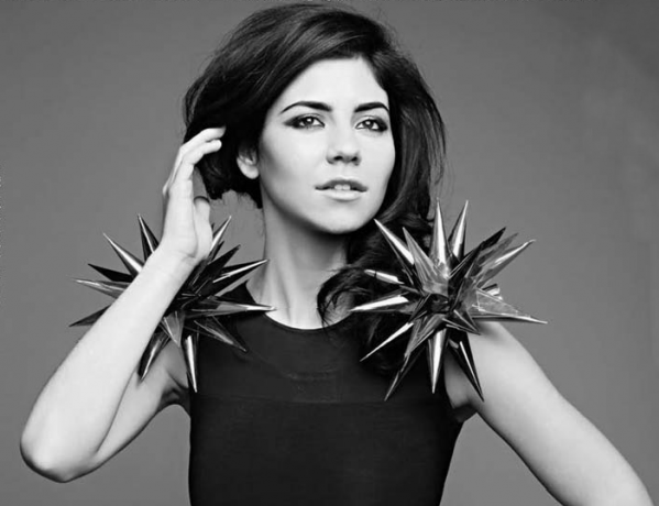 Marina Lambrini Diamandis better known as Marina and the Diamonds