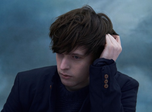 James Blake is alone now.